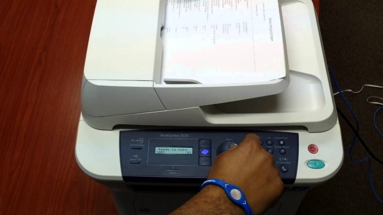factory reset Xerox WorkCentre 3210, 3325 by Corona Technical