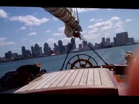 Whale Watching Sail on Schooner America   April 8, 2015
