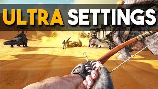 ARK: Survival Evolved Scorched Earth Ultra Settings Gameplay