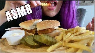 ASMR BURGER KING FISH ROYALE FRIES   Eating Show   MUKBANG 먹방   SOFT Eating Sounds   ASMR Eats