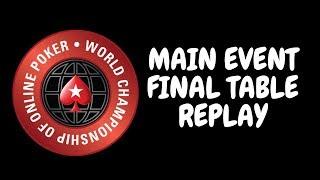 WCOOP 2018 Main Event $5,200 NLHE
