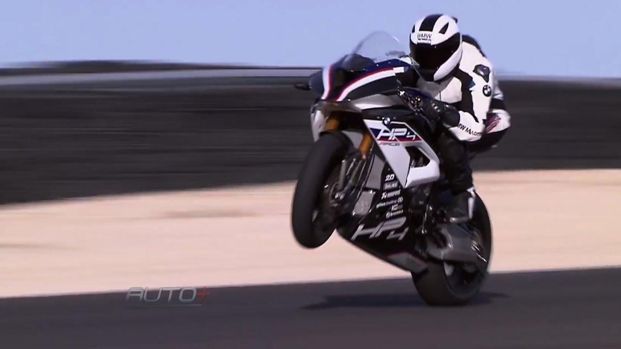 Bmw Hp4 Race Voa Baixo Nas Pistas Com 215 Cv Youtube