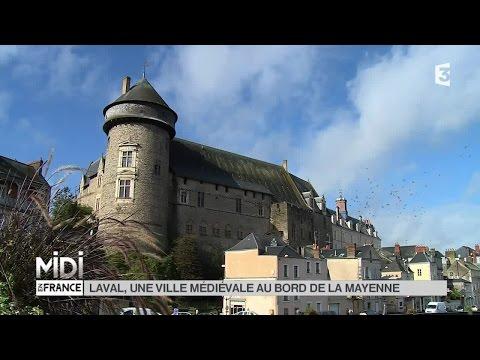 SUIVEZ LE GUIDE : Laval, une ville médiévale au bord de la Mayenne