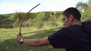 Kako napraviti luk DIO1 / How to make a bow PART 1