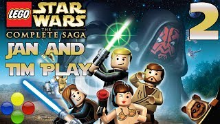 Dude Wrong Button - Lego Star Wars - Part 2: Slim Slam