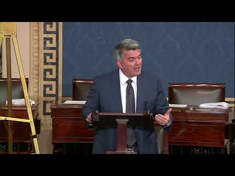 Gardner Takes to Senate Floor to Fight for States' Rights