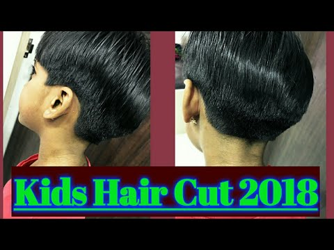 Kids Short Hair Cut 2018 Best Short Hair Cut For Kids Mushroom Hair Cut How To Cut Kids Hair Youtube