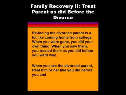 How Treat Adult Children of Divorce (ACOD): Preventing Mistakes and Repairing the Damage