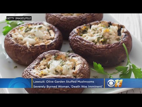 Tanner and Drew - Woman Sues Olive Garden Over Hot Stuffed Mushrooms Burning Her Mouth
