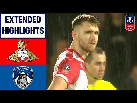 Late Whiteman Winner Sends Rovers Through!   Doncaster Rovers 2-1 Oldham   Emirates FA Cup 2018/19