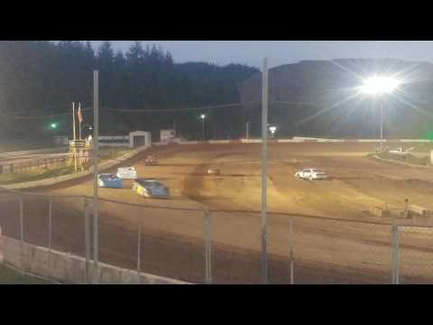 6-3-17 late model main coos bay speedway