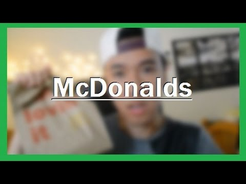 Eat Lunch With Me Mcdonalds Mukbang Korean Eating Show