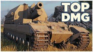 Conqueror Gun Carriage • TOP DAMAGE • WoT Gameplay