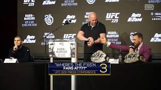 Conor McGregor's Top 5 Quotes From UFC 229 Press Conference