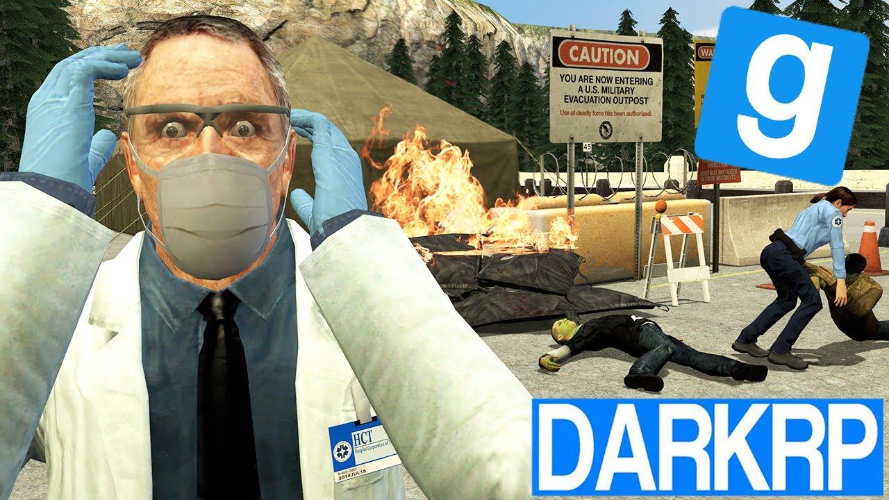 L'EPIDEMIE RAVAGE LA VILLE ! (c'est l'émeute) - Garry's Mod DarkRP