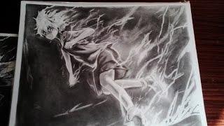 Drawing Killua Zoldyck (God Speed Mode) - Hunter x Hunter 2011