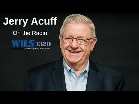 Jerry Acuff in Lansing, Michigan on the radio on 4/19/17