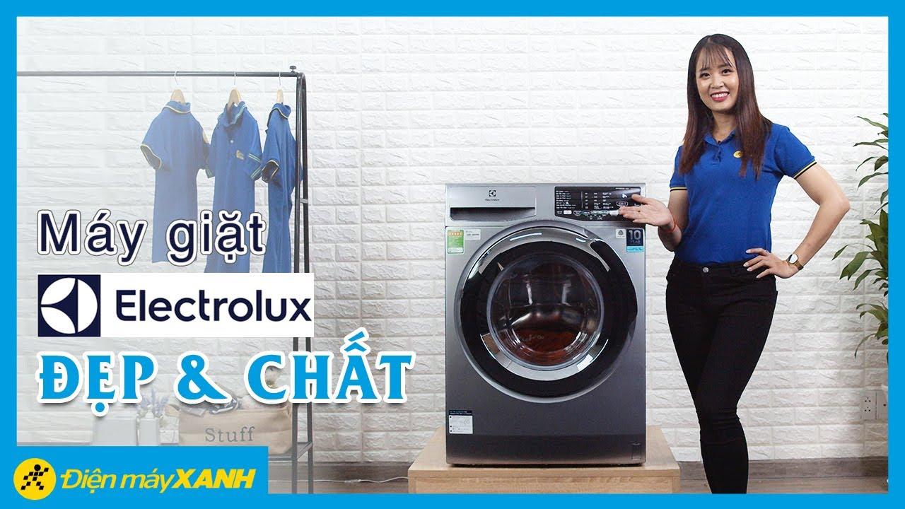 Máy giặt Electrolux Inverter: giặt hơi nước diệt khuẩn (EWF9025BQSA) • Điện  máy XANH - YouTube
