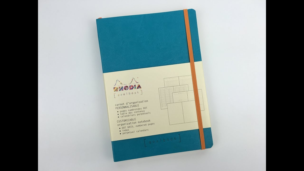 Rhodia Goalbook Review Pros And Cons Dot Grid Notebook For