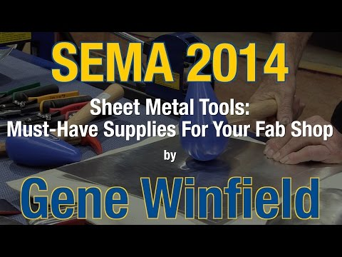 Sheet Metal Tools: Must-have Supplies For Your Fabrication Shop - SEMA 2014 Eastwood Booth