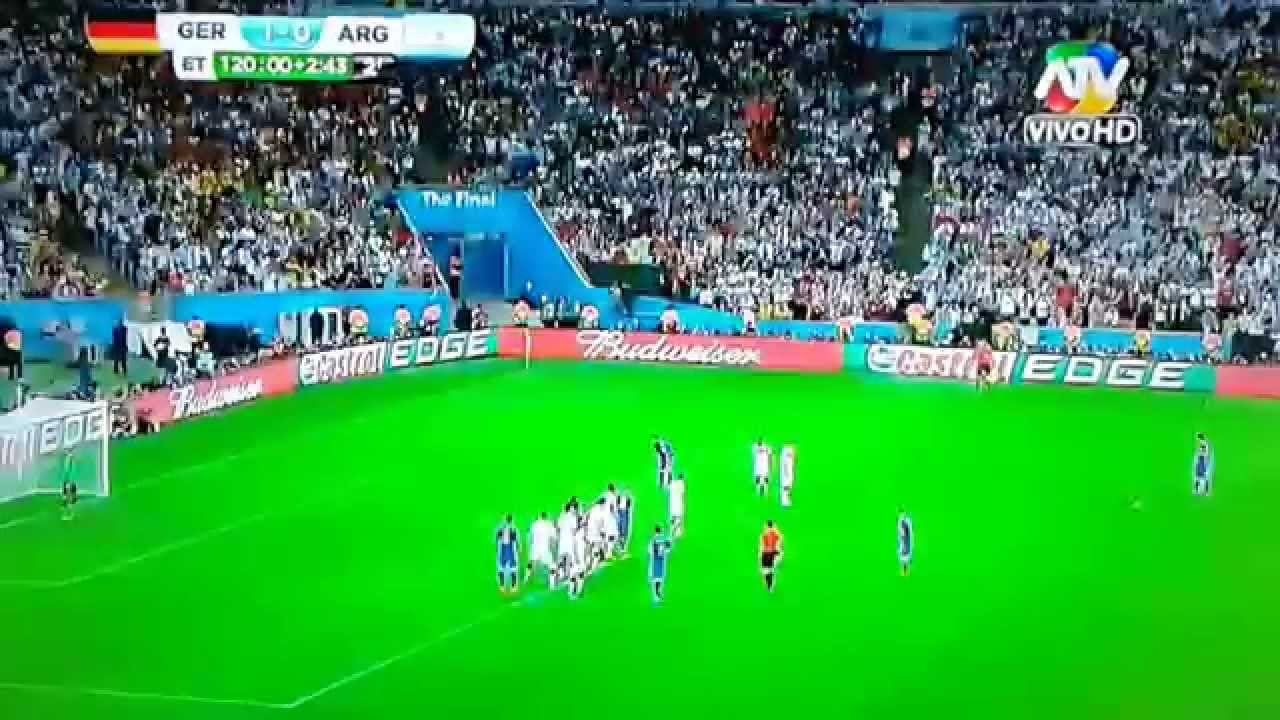 Alemania Vs Argentina Mundial Brasil 2014 Atv Youtube