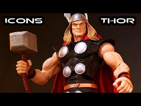 Marvel Legends Icons THOR Figure Review