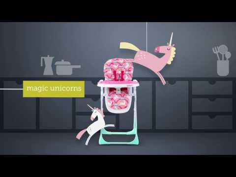 Cosatto NOODLE SUPA Highchair – Product Video