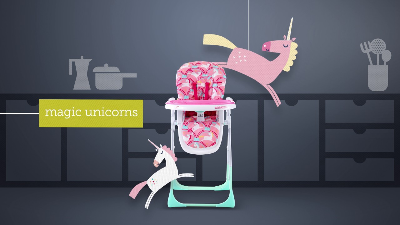 Cosatto NOODLE SUPA Highchair - Product Video