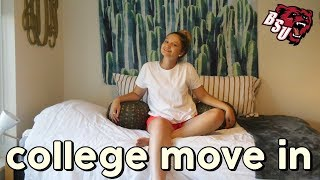 COLLEGE MOVE IN DAY VLOG 2018 (Bridgewater State University)