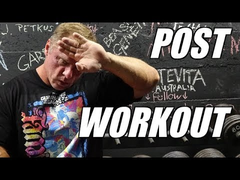 Post Workout Nutrition & what you need to know