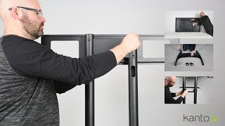 How to install a mobile TV mount - MTM82PL S  | Kanto Living