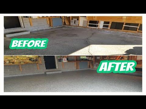 Garage Perfect Epoxy Coating How To Coat Garage Floor