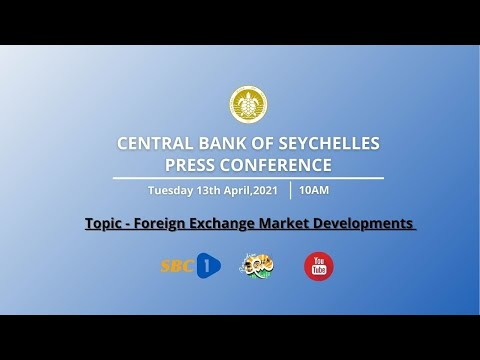 SBC   LIVE - CENTRAL BANK OF SEYCHELLES (CBS) PRESS CONFERENCE - 13.04.2021