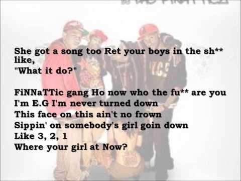 Finatticz-Dont drop that thun thun lyrics