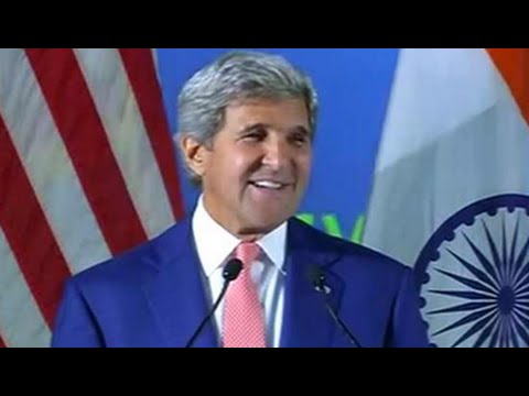 At IIT Delhi, John Kerry jokes about rain and boats