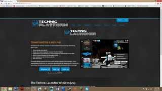 Repeat youtube video How To Install Technic Launcher Minecraft 1.6.4