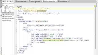 TP 1  PHP MYSQL Gestion des ETDUDIANTS DWM 16 02 2014