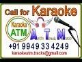 Veyi Naamaala Vaada  Karaoke from Om Namo Venkatesaya Movie Track