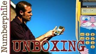 Calculator Unboxing #5 (Little Professor) - Numberphile