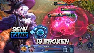 Semi Tank Alice Build with Vengeance Spell is Broken! [RANKED]|| Mobile Legends