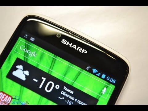 Обзор Sharp SH837W (review): дизайн, бенчмарки, ПО, игры