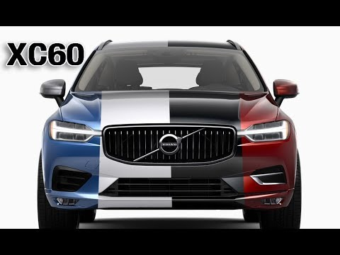 2018 volvo xc60 all color options youtube. Black Bedroom Furniture Sets. Home Design Ideas