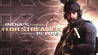 COD MOBILE GAMEPLAY LIVE INDIA // CALL OF DUTY MOBILE LIVE STREAM // CODM BATTLE ROYALE CUSTOM ROOMS
