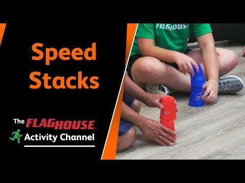 Phys Ed Ideas With Speed Stacks (Ep. 108 - Speed Stacking)