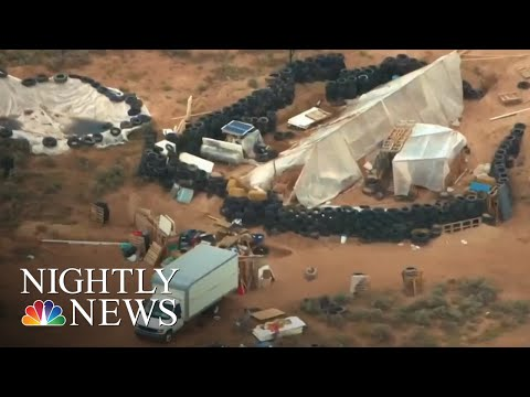 11 Children Rescued From New Mexico Compound After Police Raid | NBC Nightly News