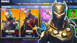 "NEW ""Oblivion"" *FEMALE OMEGA* SKIN in Fortnite! - NEW Fortnite UPDATE! (Fortnite Battle Royale)"