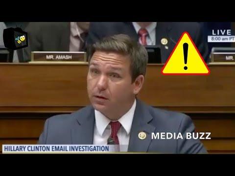 Ron DeSantis Can't Believe James Comey's Responses to Questions About Hillary's Dangerous Behavior!