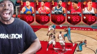 CURRY WON'T MISS! NBA Live Mobile 16 Gameplay - THIS LINEUP IS INSANE Ep. 4 thumbnail