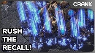 Rush the Recall! - Crank's StarCraft 2 Variety!