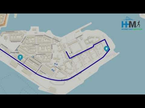 Helsinki Half Marathon 2018 - Route Map